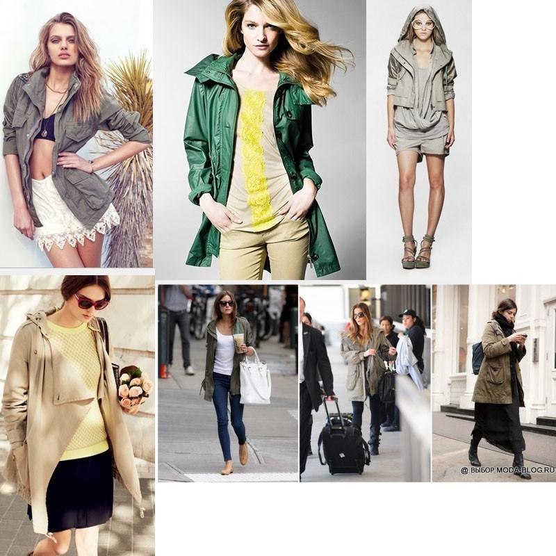 Парка - модная куртка весны