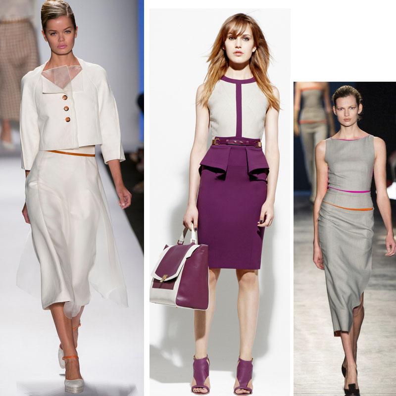 Модный образ для делового стиля