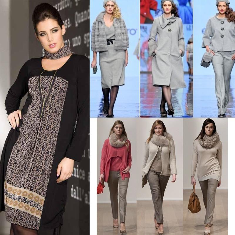 Многие полные женщины выбирают одежду, которая свободно облегает тело
