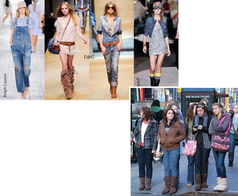 Что вы любите сильнее одежду или моду?