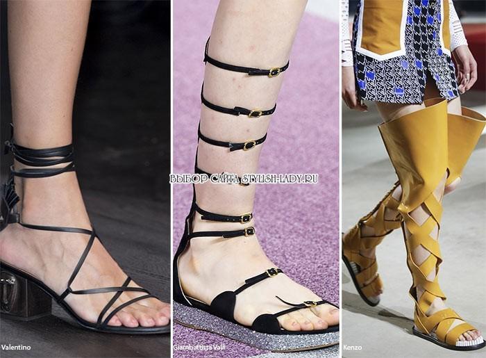 Такое смелое решение придает обуви оригинальность и экстравагантность