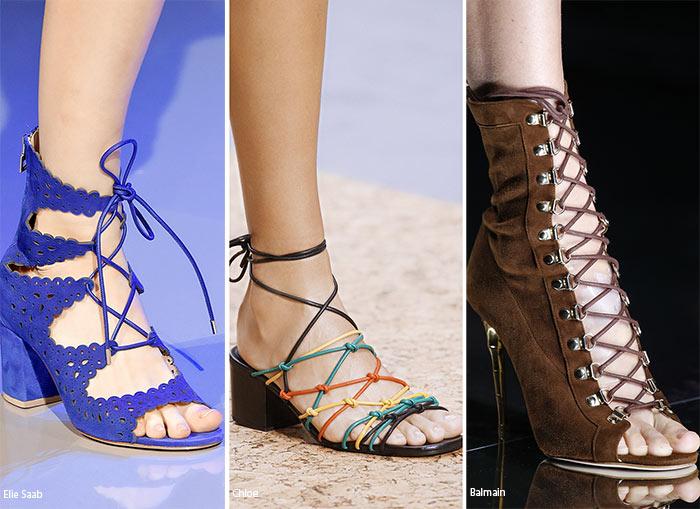 Еще одним примером такой трансформации стали шнурки