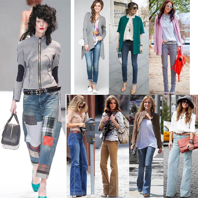 Подробнее рассмотрим модные модели джинс