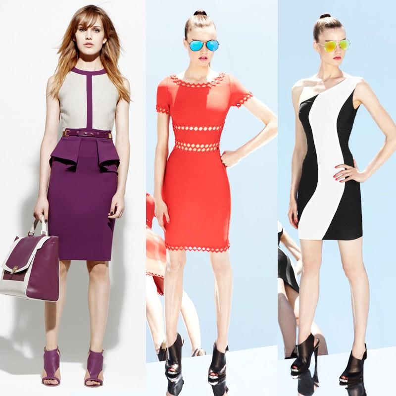 Казалось бы, чем можно украсить строгой формы платье?