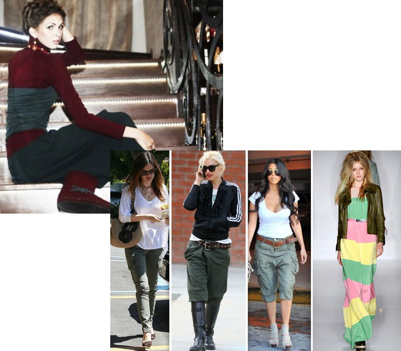 Сегодня это модный стиль одежды