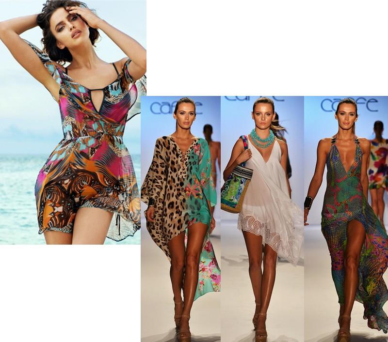 для пляжного отдыха платье трансформер