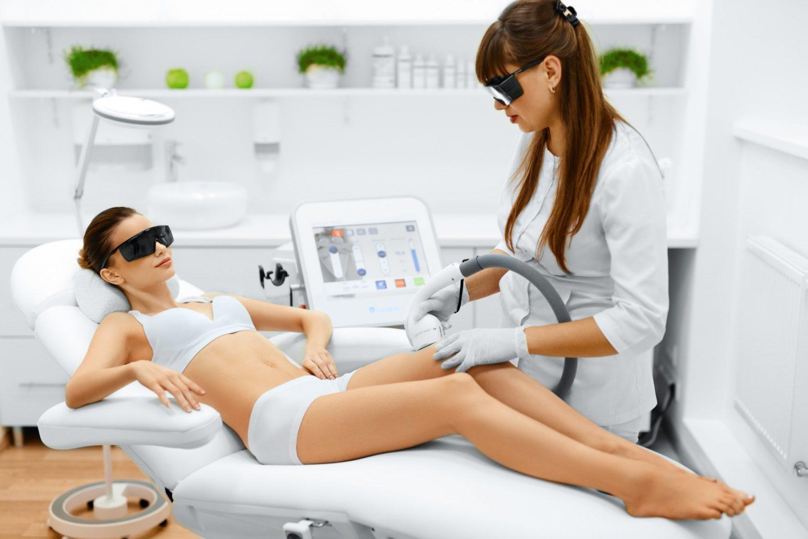 Процедура лазерного удаления волос
