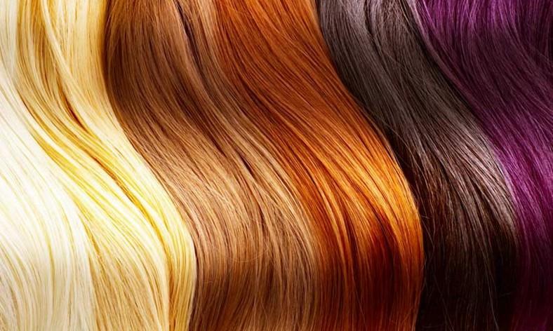 Перманентное окрашивание волос