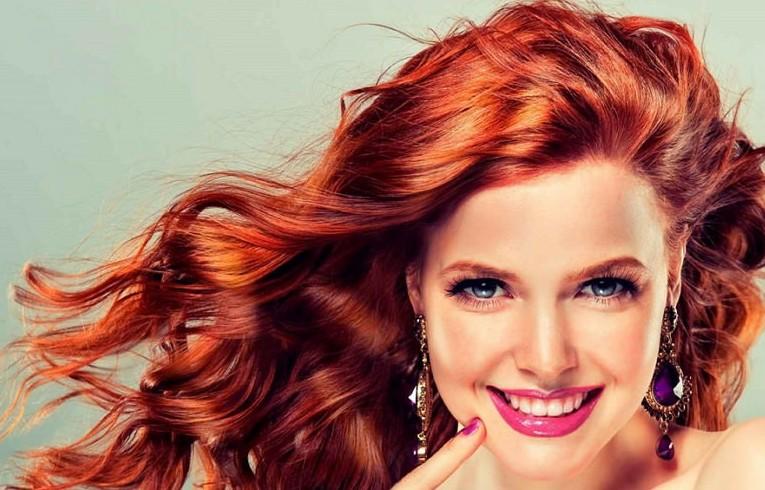 Красим волосы в рыжий цвет