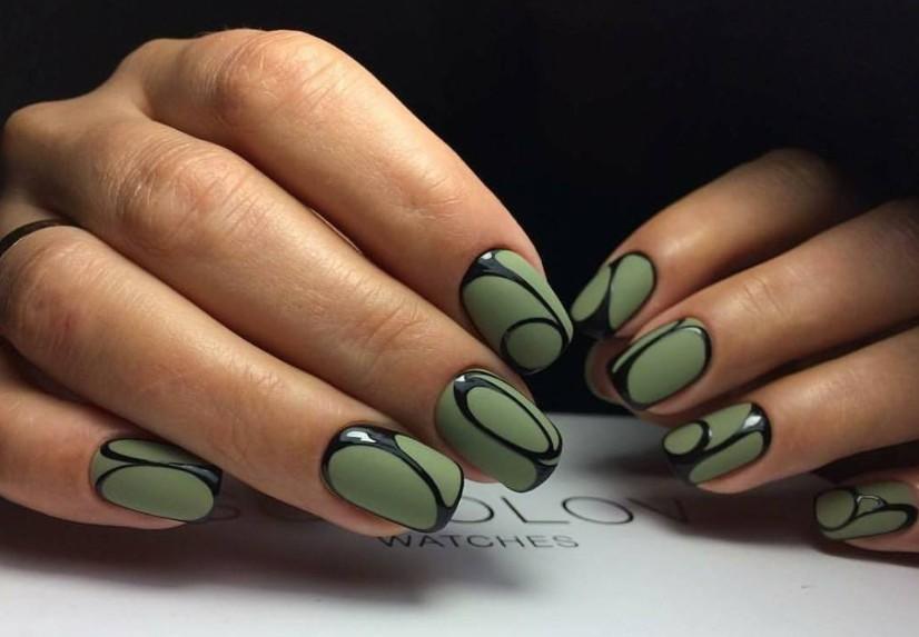 Красиво накрашенные ногти