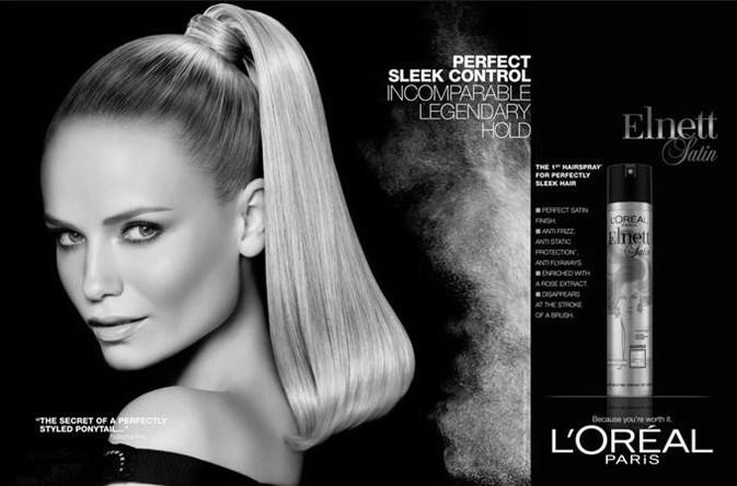 Реклама лака для волос