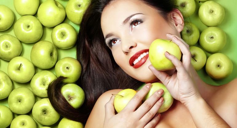 Творожная маска с яблочным соком