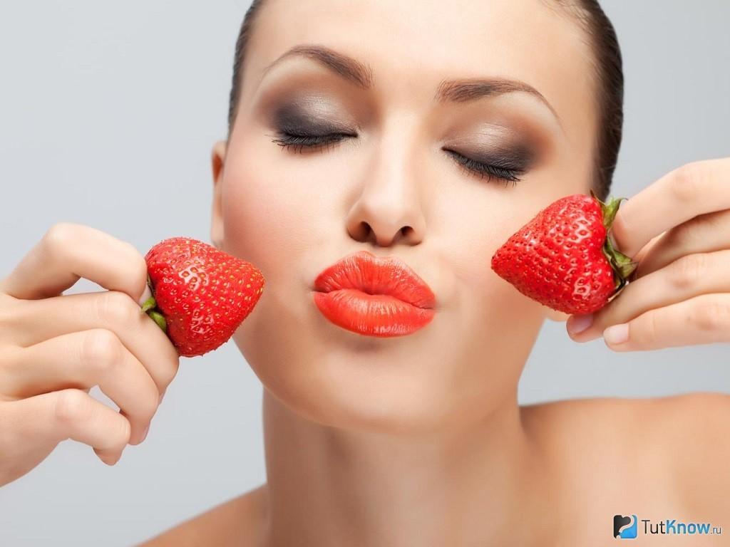 косметические маски из ягод