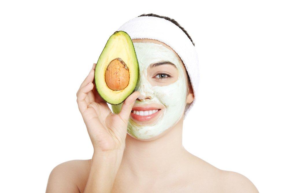 авокадо маска для лица