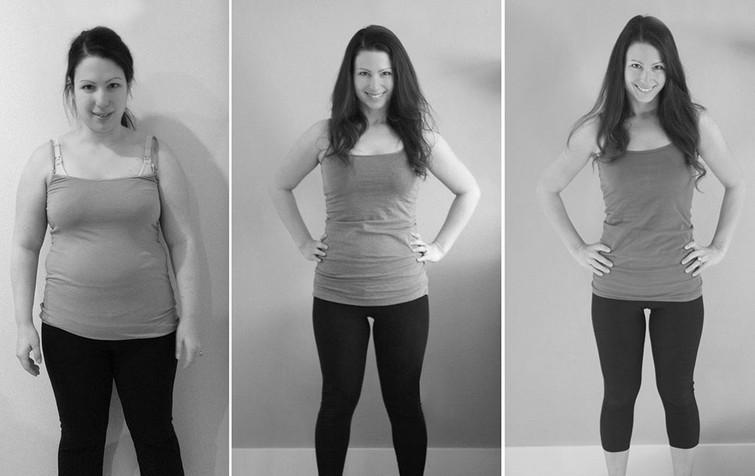 Результат похудения за 30 дней