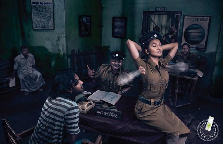 Креативная реклама, созданная Лео Бернетт, Шри-Ланка для Джанет дезодорант, в категории: здоровье.