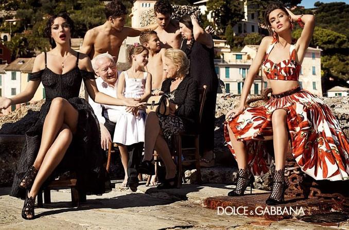 Моника Беллуччи в рекламе Dolce & Gabbana