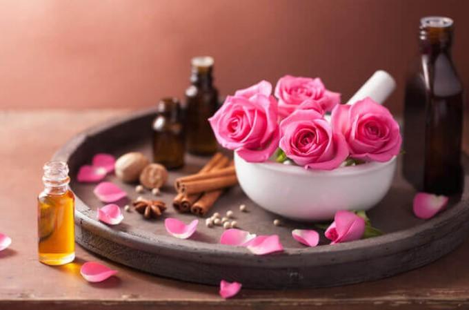 Использование эфирного масла розы