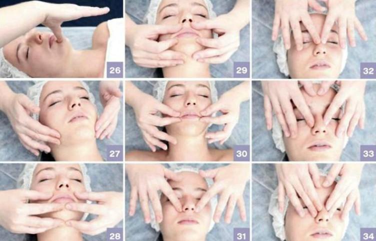 Техника массажа лица