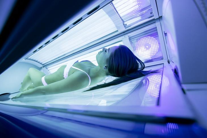 Ультрафиолетовые лучи в солярии