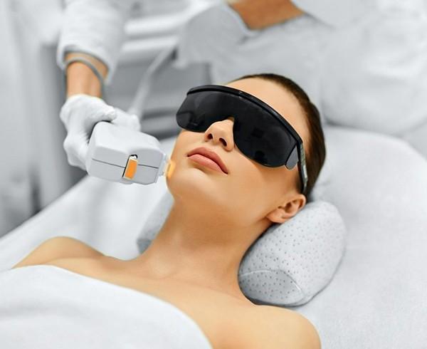 Проведение лазерной терапии