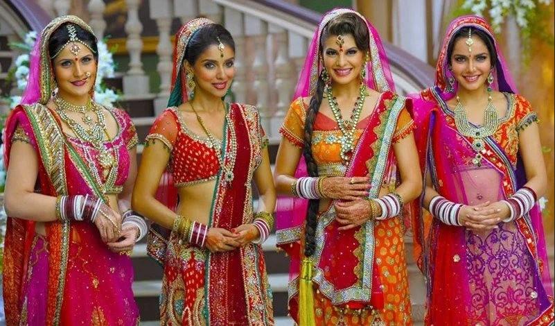 индийский национальный костюм