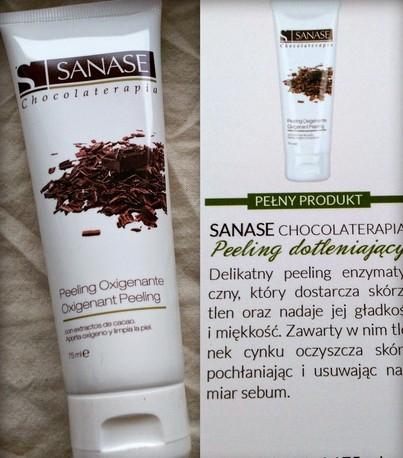 Sanase Chocolaterapia Oxigenant Peeling
