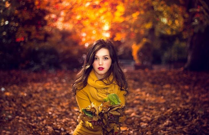 Прогулка осенью