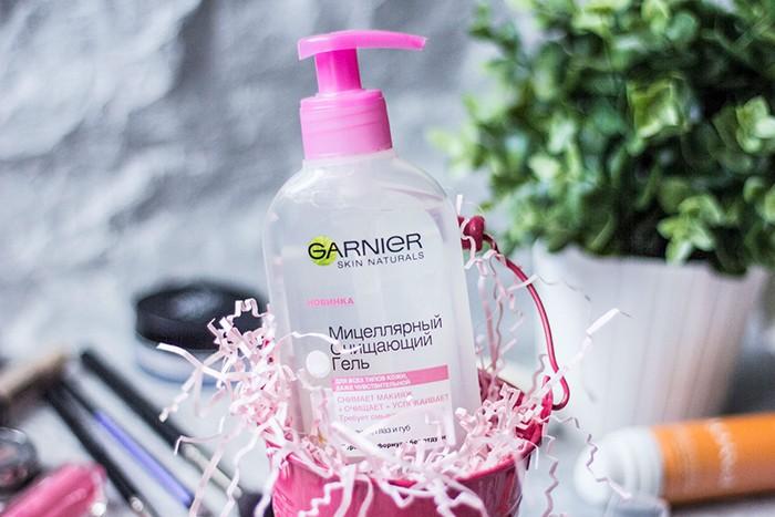 Мицеллярный очищающий гель от Garnier