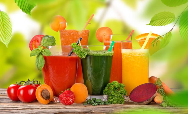 Фреши: лечебные свойства свежих соков