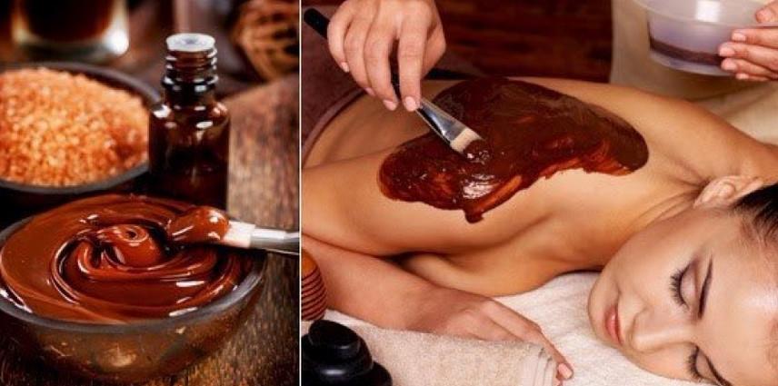 Обертывание шоколадом