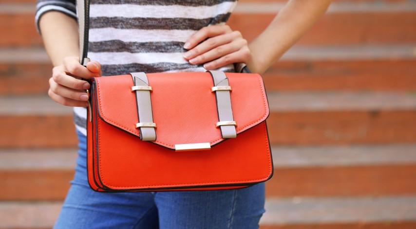 Женщина и сумочка