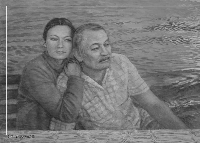 Картина Мансур Саттаров