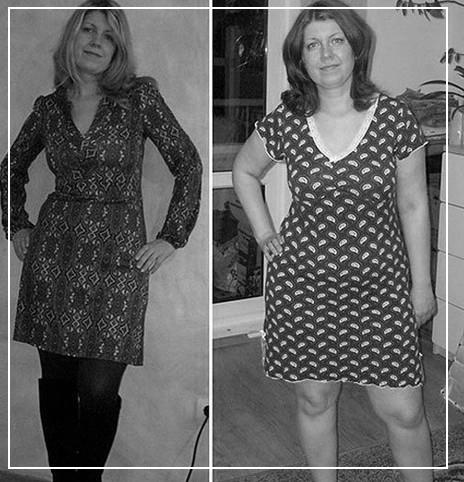 Фото до и после диеты