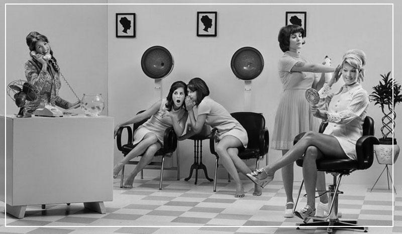 Девушки в салоне красоты