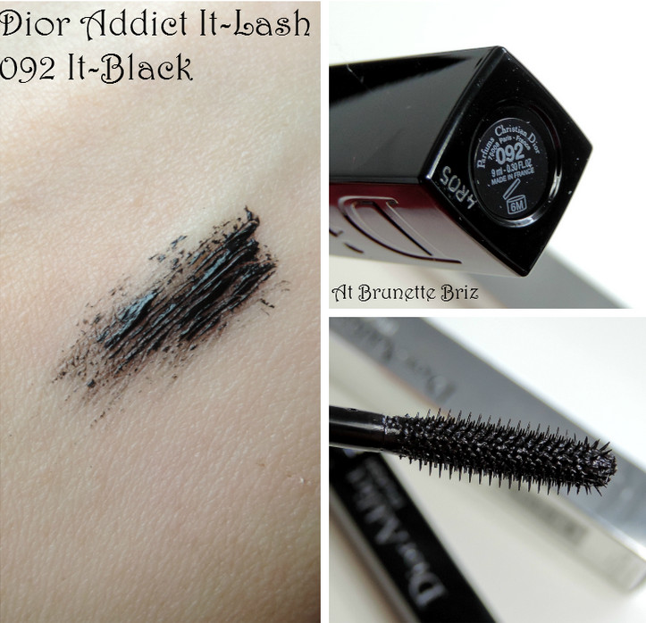 Обзор туши Dior Addict It-Lash Mascara — 092 It-Black
