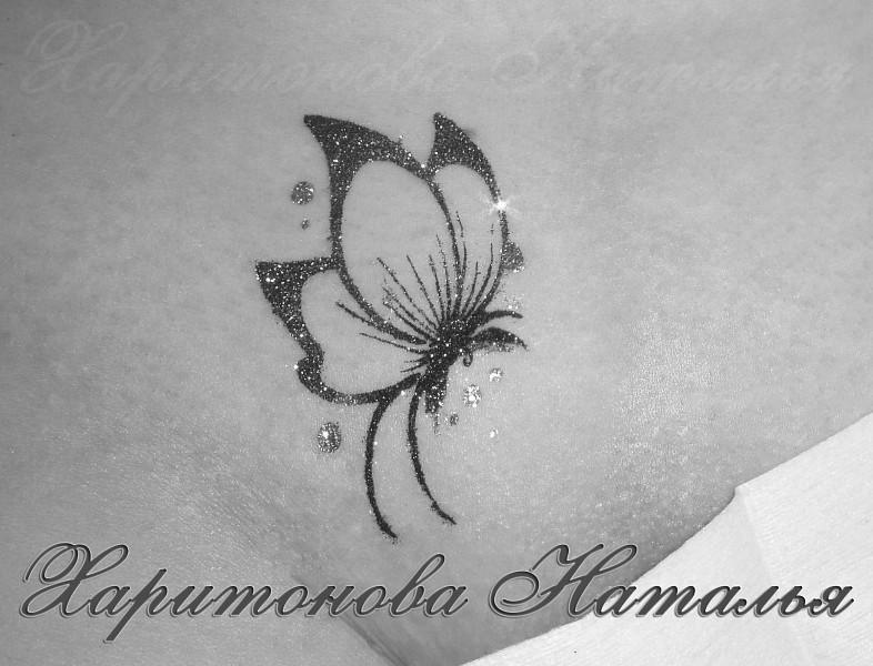 Фото бикини дизайна в виде бабочки