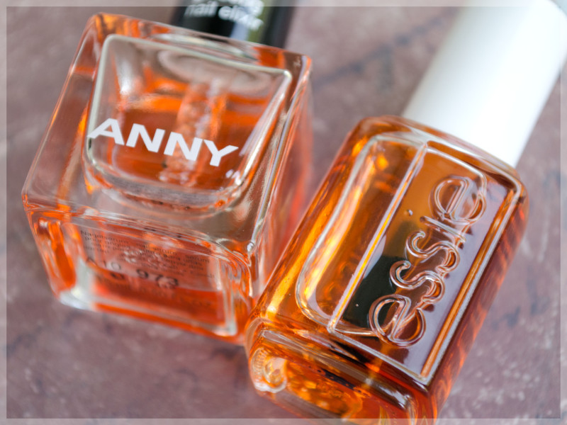 Essie Apricot Cuticle Oil & ANNY # 973 Ginseng Nail Elixir