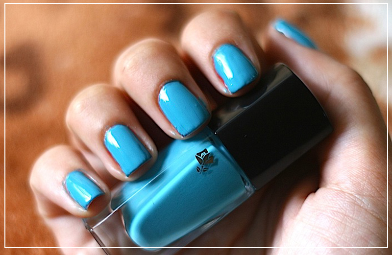 Обзор лака Lancome Vernis In Love — 501B Aquamarine