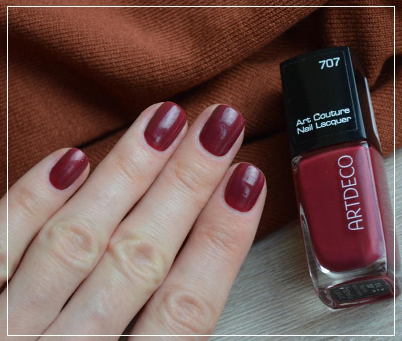 Обзор лака Artdeco Art Couture Nail Lacquer 740