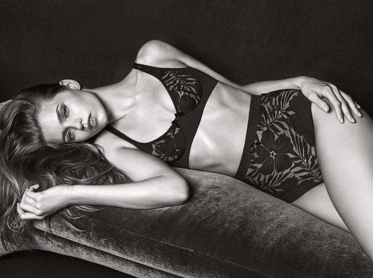 Эбби Ли Кершоу в фото сессии нижнего белья