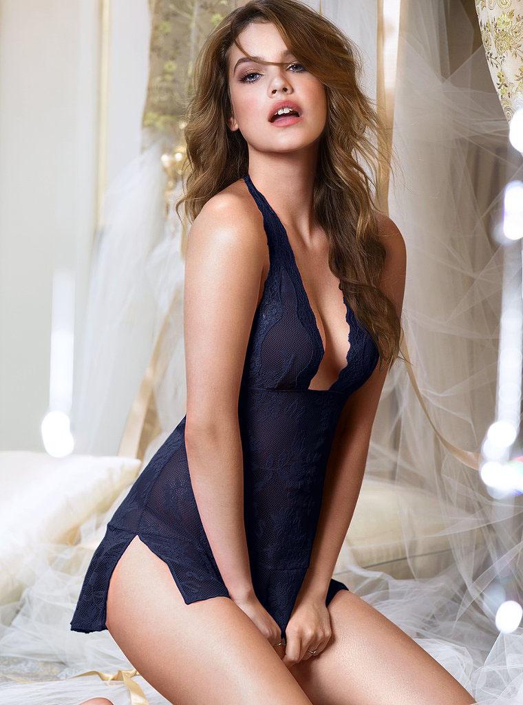 Барбара Палвин фото сессия нижнего белья Victoria's Secret
