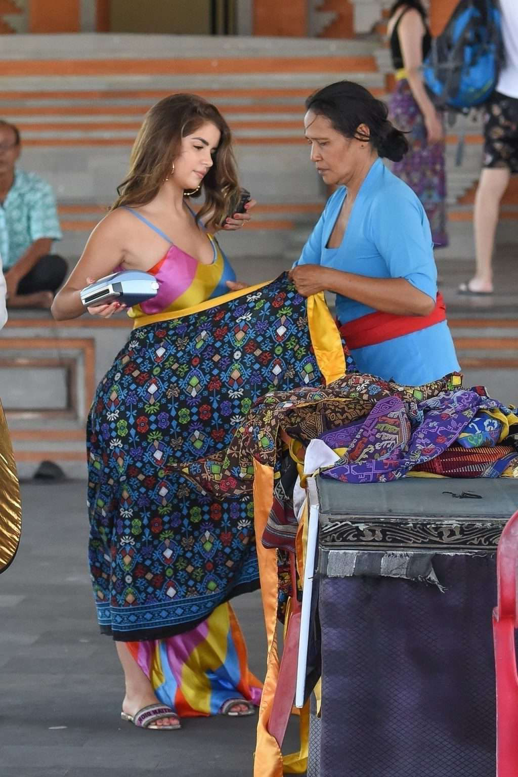 Фотосессия Деми Роуз (Demi Rose) в индийском стиле