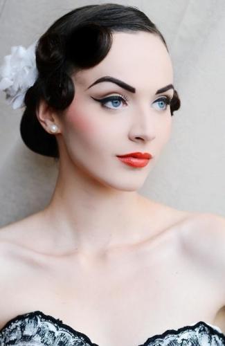Ретро макияж (1)