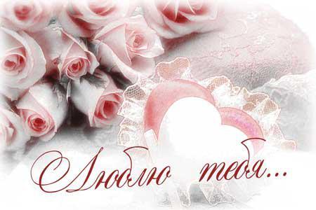 Люблю тебя роза