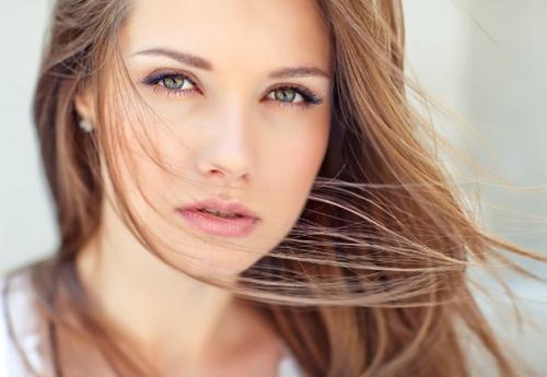 Нежность в макияже для зеленых глаз