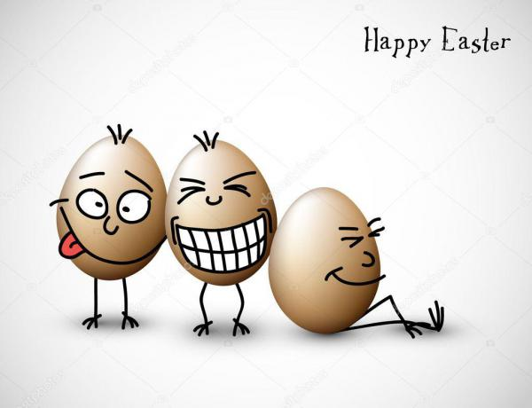 Смешные яйца