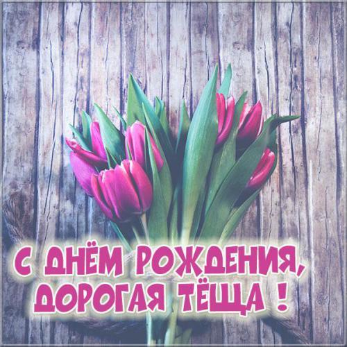 Теще тюльпаны со словами