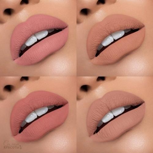 4 вида макияжа губ