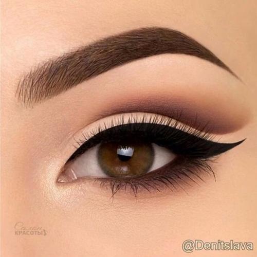 Макияж для светло коричневых глаз